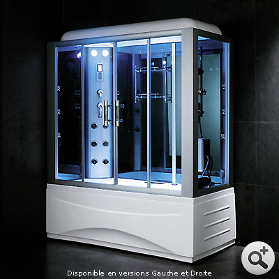 baignoire douche hammam omega 170 thalassor fabricant. Black Bedroom Furniture Sets. Home Design Ideas