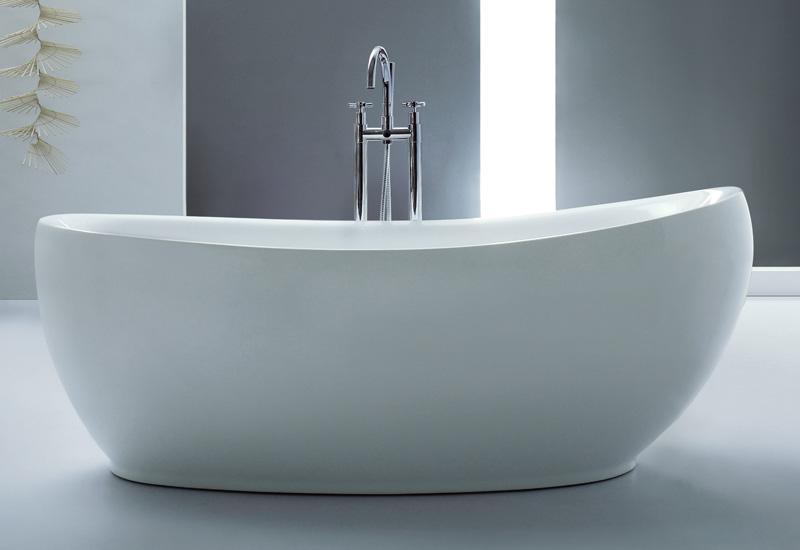 Baignoire lot blow thalassor baignoires ilot design en acrylique - Baignoire douche design ...