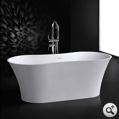 baignoire lot flower thalassor baignoires ilot design en solid surface. Black Bedroom Furniture Sets. Home Design Ideas