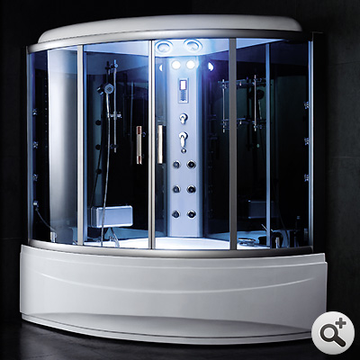 baignoire douche hammam omega 150 s thalassor fabricant. Black Bedroom Furniture Sets. Home Design Ideas