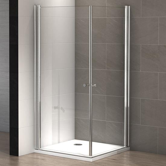 cabine douche rectangulaire ness 100 x 90 cm thalassor. Black Bedroom Furniture Sets. Home Design Ideas