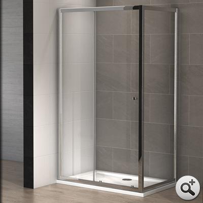 cabine douche slide 160 x 80 cm thalassor. Black Bedroom Furniture Sets. Home Design Ideas