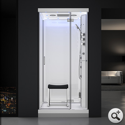 douche hammam urban 100 droite b3 thalassor fabricant. Black Bedroom Furniture Sets. Home Design Ideas