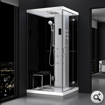 douche hammam urban 100 droite n2 thalassor fabricant. Black Bedroom Furniture Sets. Home Design Ideas