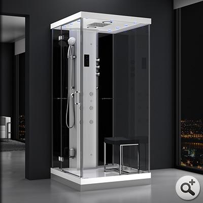 douche hammam urban 100 gauche n1 thalassor fabricant. Black Bedroom Furniture Sets. Home Design Ideas