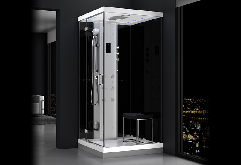 douche hammam urban 1o0 gauche n2 thalassor fabricant. Black Bedroom Furniture Sets. Home Design Ideas