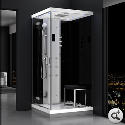 douche hammam urban 1o0 gauche n2 thalassor fabricant. Black Bedroom Furniture Sets. Home Design Ideas