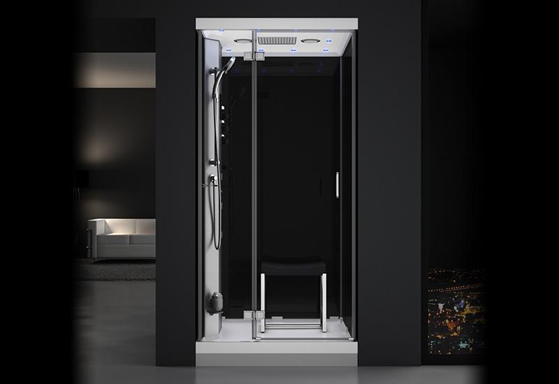 douche hammam urban 1o0 gauche n3 thalassor fabricant. Black Bedroom Furniture Sets. Home Design Ideas