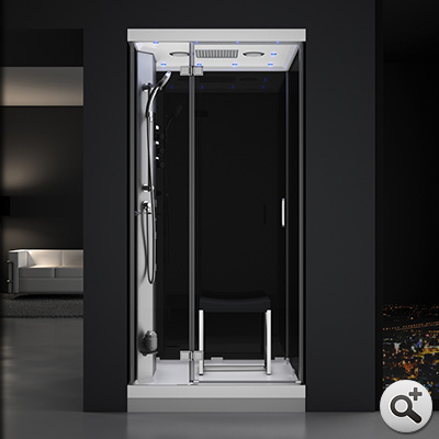 douche hammam urban 1o0 gauche n3 thalassor fabricant. Black Bedroom Furniture Sets. Home Design Ideas