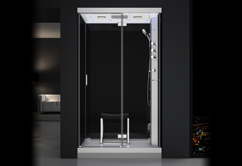 douche hammam urban 120 droite n3 thalassor fabricant. Black Bedroom Furniture Sets. Home Design Ideas