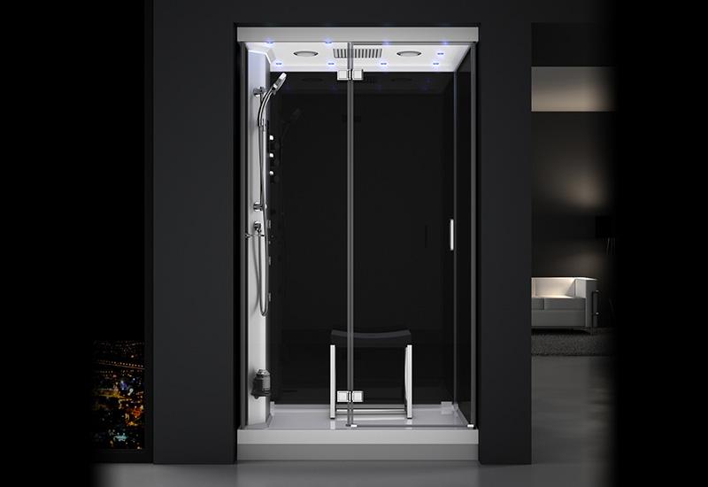 douche hammam urban 120 gauche n3 thalassor fabricant. Black Bedroom Furniture Sets. Home Design Ideas