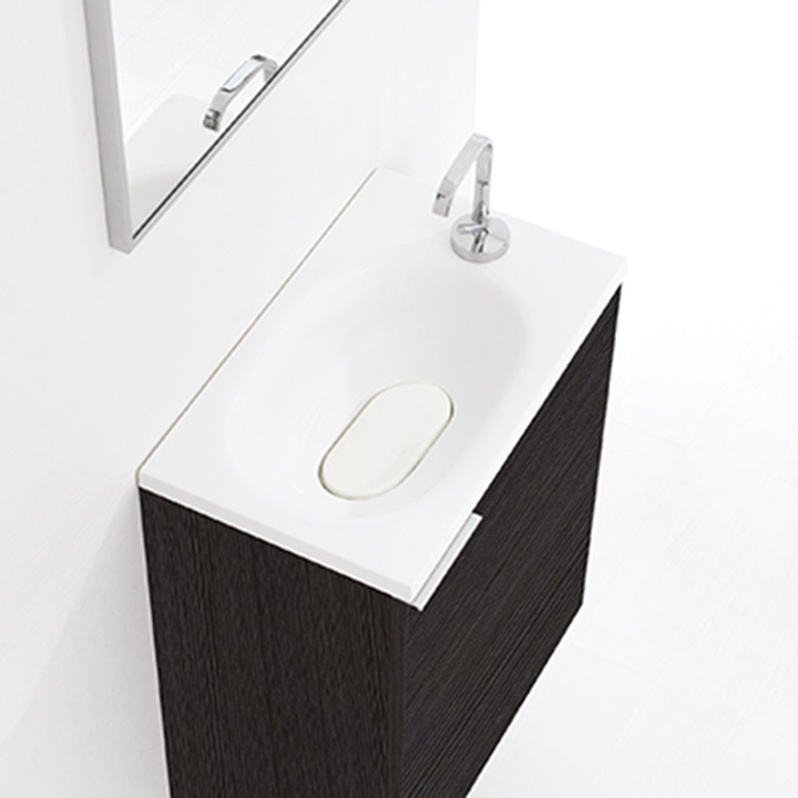meuble lave main flyer 50 collection meuble design thalassor. Black Bedroom Furniture Sets. Home Design Ideas