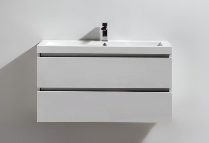 Meuble salle de bain city 100 collection meuble design - Grand meuble salle de bain ...