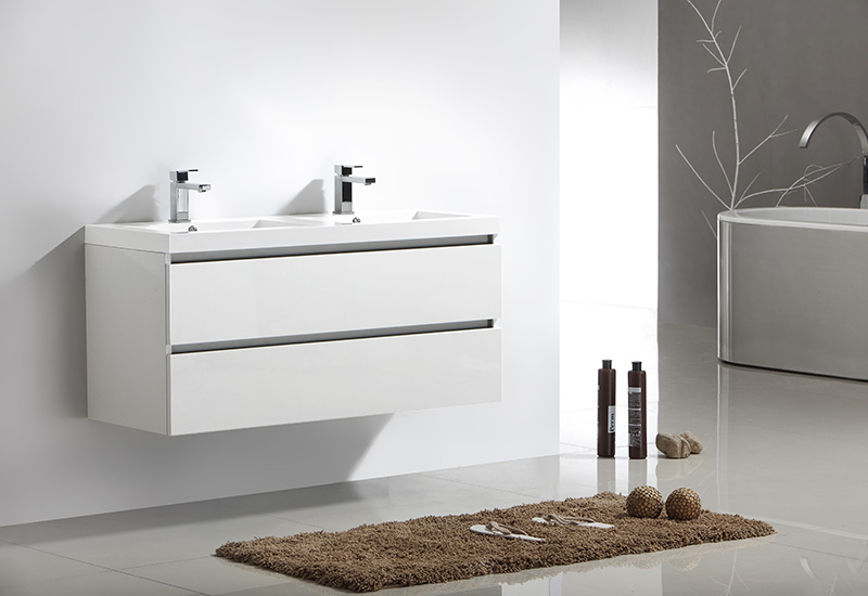 Meuble Salle De Bain City 120 - Collection Meuble Design Thalassor