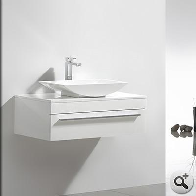 meuble salle de bain curl 90 collection meuble design thalassor. Black Bedroom Furniture Sets. Home Design Ideas