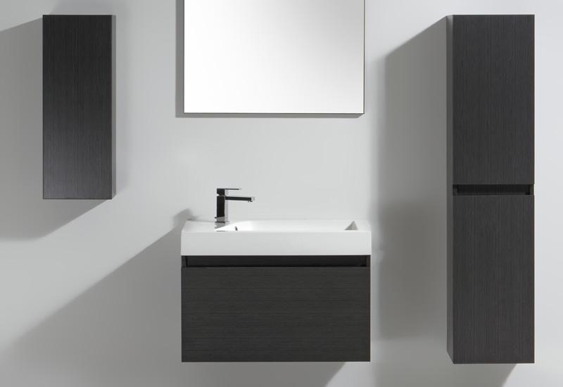 Meuble salle de bain ginger 80 collection meuble design for Meuble salle de douche