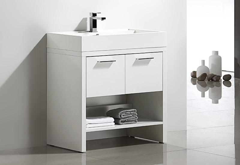 meuble salle de bain sur pieds kelly 80 collection design thalassor. Black Bedroom Furniture Sets. Home Design Ideas