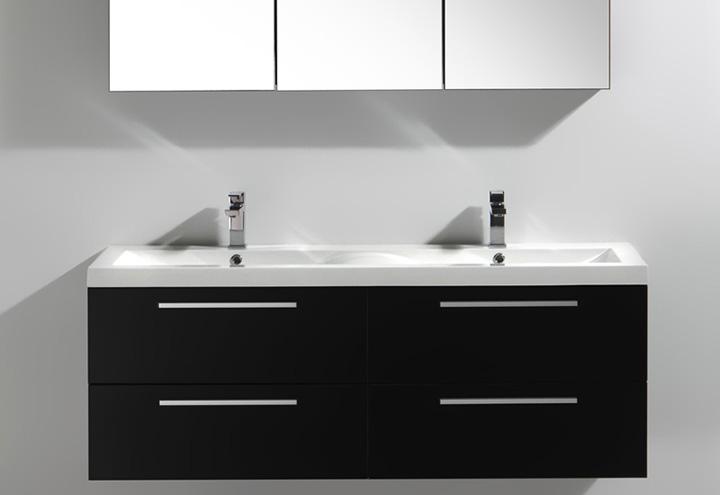 meuble salle de bain twin 144 collection meuble design thalassor. Black Bedroom Furniture Sets. Home Design Ideas