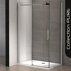 parois de douche mod les d 39 angle carr s et rectangulaires. Black Bedroom Furniture Sets. Home Design Ideas