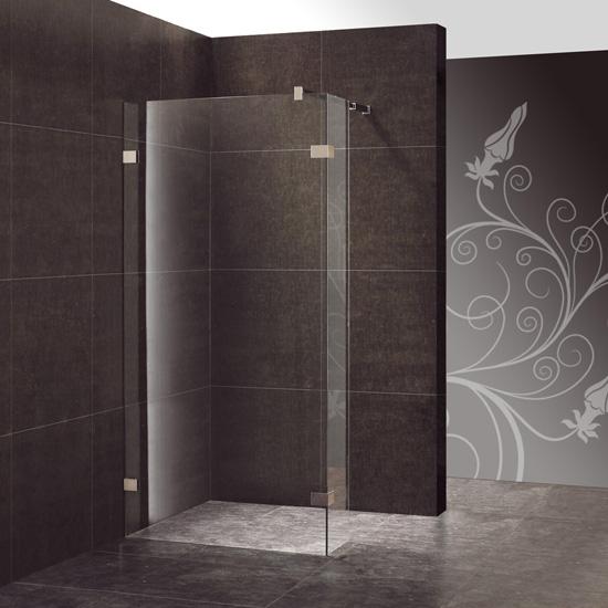 Douche italienne palermo thalassor sp cialiste parois - Poser une paroi de douche fixe ...