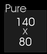 Paroi De Douche Pure 140 X 80 Cm Thalassor