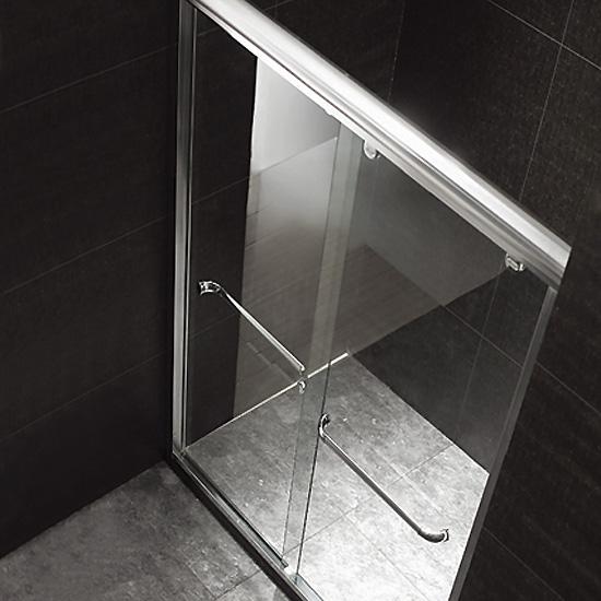 Porte de douche coulissante diva 120 portes de douche thalassor for Porte de douche italienne