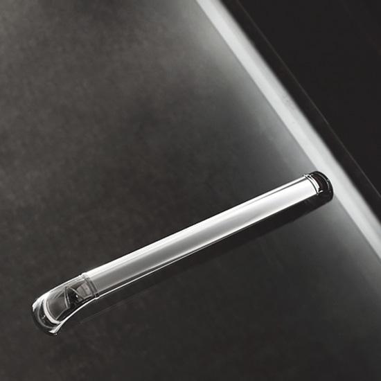 Porte de douche coulissante diva 130 portes de douche - Poignee porte de douche ...