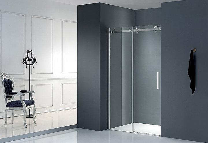 porte de douche coulissante lumio 110 thalassor. Black Bedroom Furniture Sets. Home Design Ideas