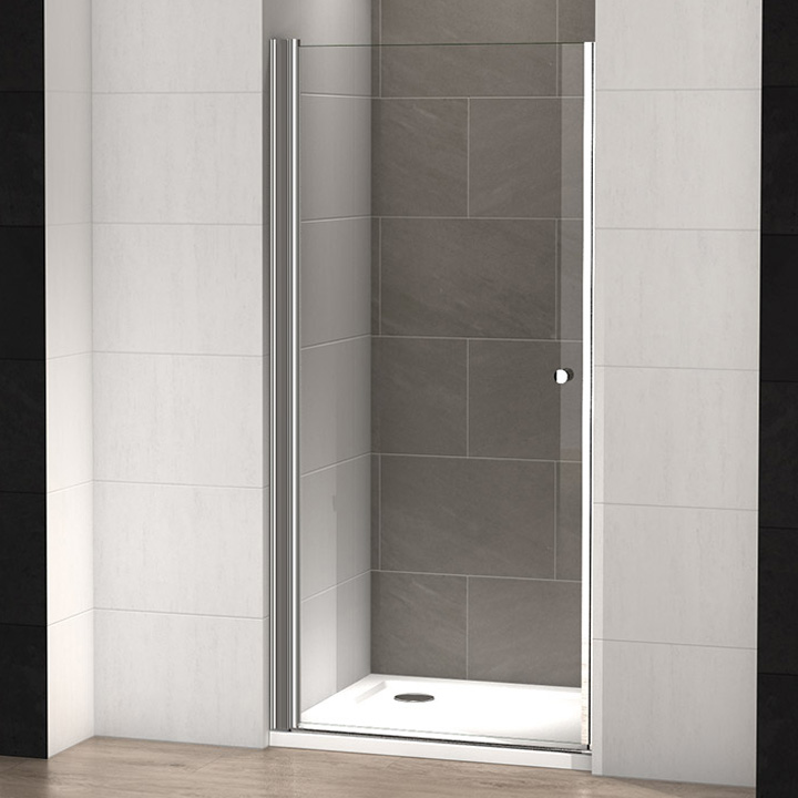 Porte de douche pivotante sina 100 thalassor Porte de douche 100 cm