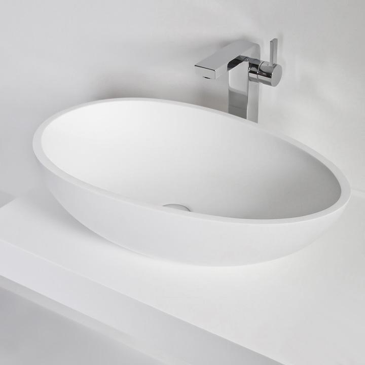 vasque salle de bain cocoon thalassor vasque poser en solid surface. Black Bedroom Furniture Sets. Home Design Ideas