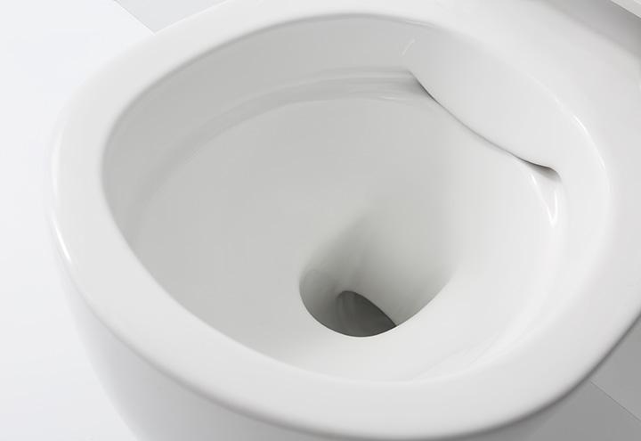 wc suspendu sans bride clario toilettes et cuvettes suspendues sans bride. Black Bedroom Furniture Sets. Home Design Ideas